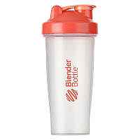 Шейкер спортивный BlenderBottle Classic 820ml Clear-Coral - 144944