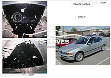 Защита двигателя БМВ 5-й серії Е 39 1995-2003 до модиф. V-3,0 включно дизель, бензин захист АКПП (1.9404.00), МКПП (1.9401.00) окрім БМВ E39 Седан