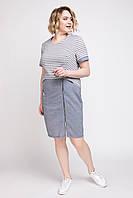 Платье женское льняное АР Наина 50-56 размеры