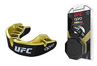 Капа Opro Gold Ufc Hologram Black Metal-Gold R145153