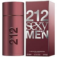 Carolina Herrera 212 Sexy Men EDT 100ml (туалетная вода Каролина Эррера 212 Секси Мэн)