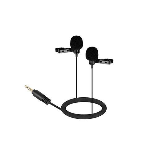 Подвійний петличний мікрофон Boya BY-LM300