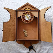 Ключница Винтаж с часами, фото 3
