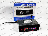 Магнитола MP3 Alpine 1173 - USB + SD +AUX + FM, фото 1