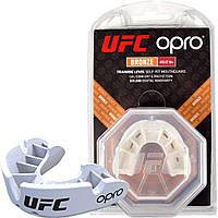Капа OPRO Bronze UFC Hologram White (art.002258002), фото 1