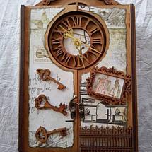 Ключница Винтаж с часами, фото 2