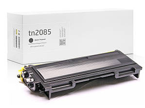 Картридж совместимый Brother TN2085 (TN-2085) , XL увеличенный ресурс (2.500 копий), аналог от Gravitone
