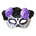 Полу маска пластик День мертвых  (3 цвета), фото 4