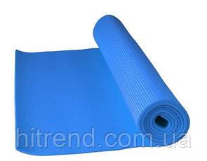 Коврик для йоги и фитнеса Power System PS-4014 FITNESS-YOGA Mat Blue - 145264