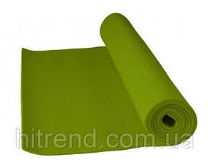 Коврик для йоги и фитнеса Power System PS-4014 FITNESS-YOGA Mat Green - 145261