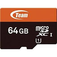 Карта памяти Team 64Gb microSDXC class 10 .
