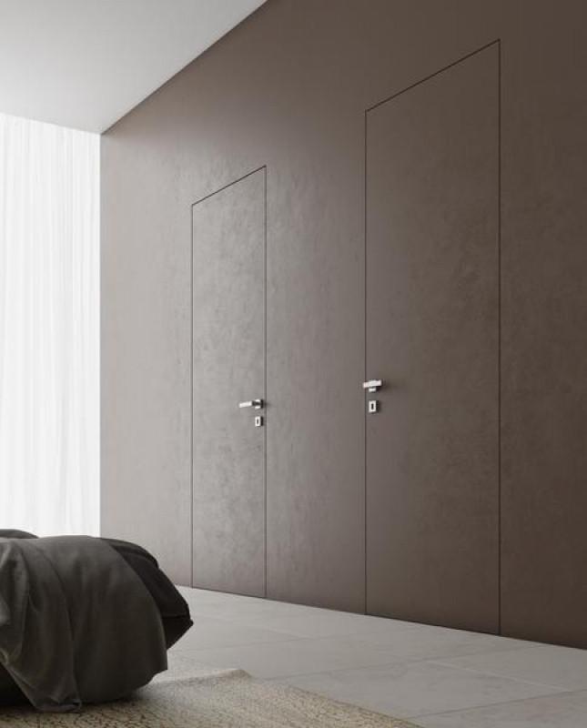 Скрытые двери для покраски