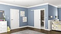Одностворчатые раздвижные межкомнатные двери