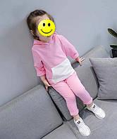 """Детский спортивный костюм для девочки с капюшоном """"Kids Fashion"""" в розовом цвете, фото 1"""