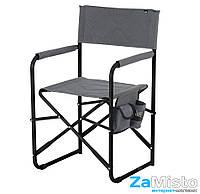 Кресло складное Vitan Режиссерский без полки 20 мм (серый меланж)