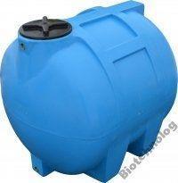 Бак, бочка, емкость 350 литров пищевая горизонтальная 300 400 G