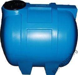 Бак, бочка, емкость 350 литров пищевая горизонтальная 300 400 G, фото 2