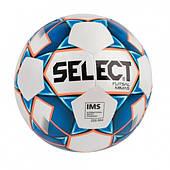 Мяч футзальный SELECT Futsal Mimas (IMS), бело-синий, размер 4
