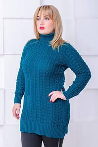Кофти, светри, кардигани в'язані великі розміри.