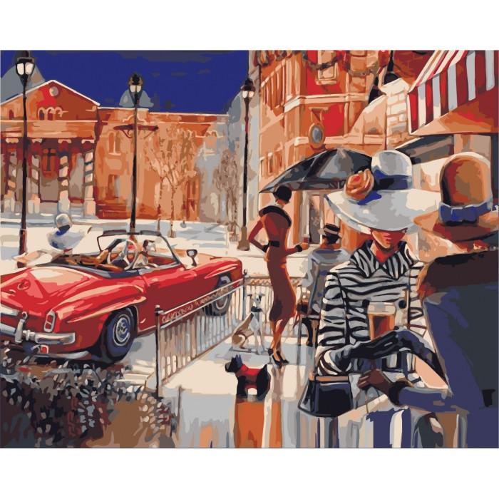 Картина по номерам Идейка - Городской гламур 40x50 см (КНО2121)