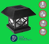 LED світильник на сонячній батареї 1W з датчиком день/ніч VS-324, фото 1