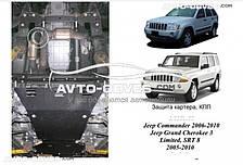 Защита двигателя Джип Гранд Черокки Limited 2006-... модиф. V-3,0CRD; 3,7i АКПП