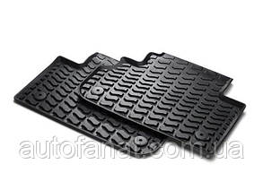 Оригинальные задние коврики салона Audi Q5 (8R) (8R0061511041)
