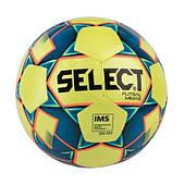 Мяч футзальный SELECT Futsal Mimas (IMS), желто-синий, размер 4