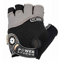 Перчатки для фитнеса и тяжелой атлетики Power System Fit Girl PS-2900 Black-Grey S - 145558