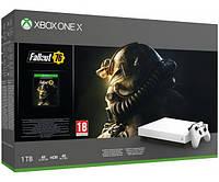 Xbox ONE X White +Fallout76