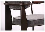 Кресло Lennon кофе / бетон, фото 5