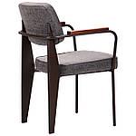 Кресло Lennon кофе / бетон, фото 4