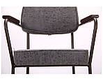 Кресло Lennon кофе / бетон, фото 6