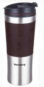 Термокружка Klausberg KB-7150 480мл Сріблясто-Коричнева - 143675