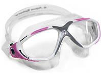 Очки-маска Aqua Sphere VISTA LADY (Бело-розовый, линзы прозрачные), фото 1