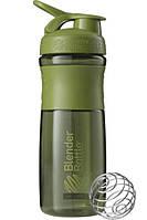 Бутылка-шейкер спортивная BlenderBottle SportMixer 820ml Moss Green R144849