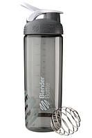 Бутылка-шейкер спортивная BlenderBottle SportMixer Sleek Promo 820ml Grey R144905