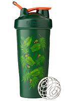 Шейкер спортивный BlenderBottle Classic Loop Special Edition Green-Coral, Art Palm 820 ml R144971