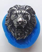 Силиконовый молд - голова льва