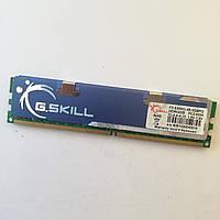 Игровая оперативная память G.Skill DDR2 2Gb 667MHz PC2 5300U CL4 (F2-5300CL4S-2GBPQ) Б/У, фото 1