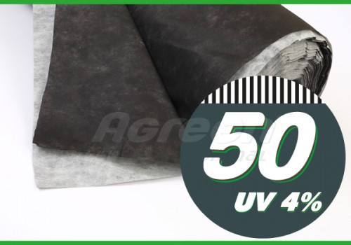 Агроволокно Agreen черно-белое (1,07 х 100 м)
