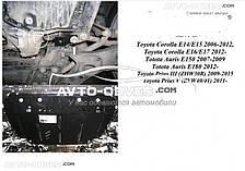 Защита двигателя Тойота Аурис E150 2007-2012 модиф. V- всі окрім 1,3; 1,8 АКПП