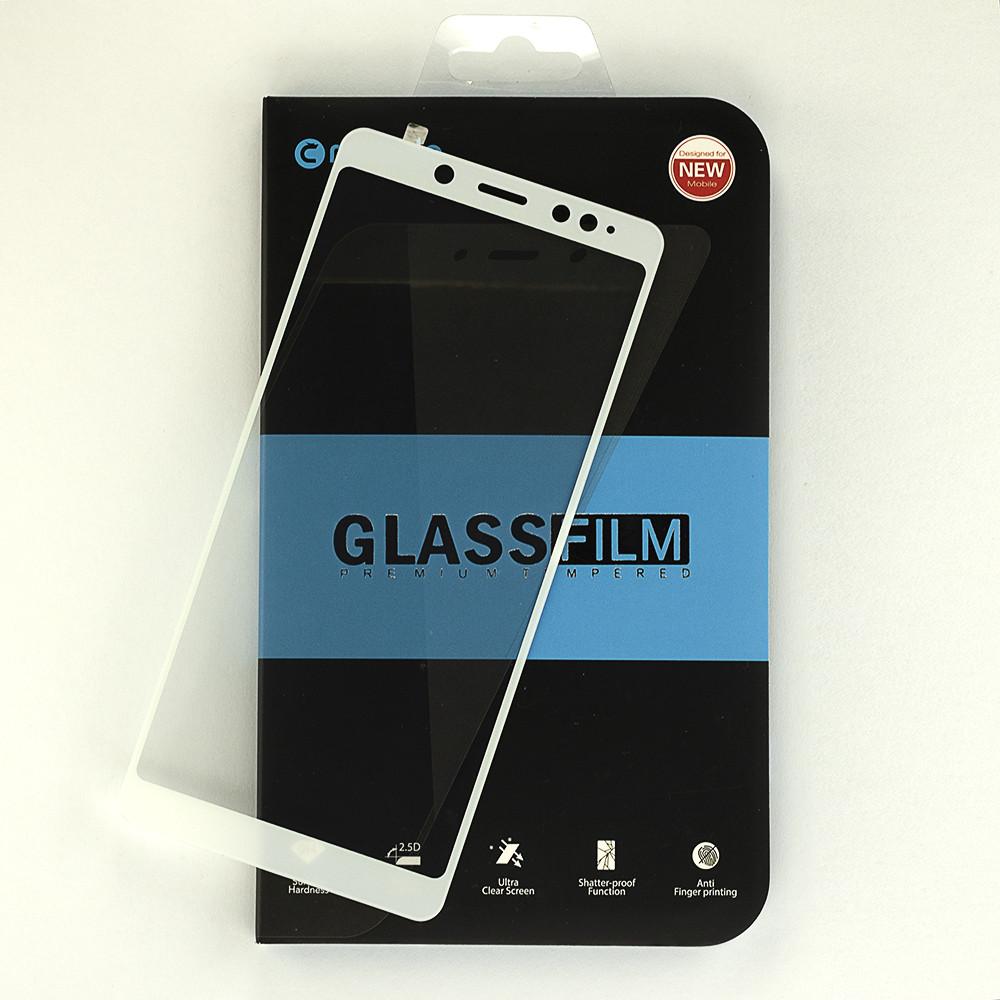 Защитное стекло Mocolo для Xiaomi Redmi Note 5 / Note 5 Pro Global полноэкранное Белое