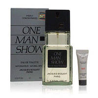Туалетная вода мужская Jacques Bogart One Man Show EDT 100 ml + After shave balm 3 ml