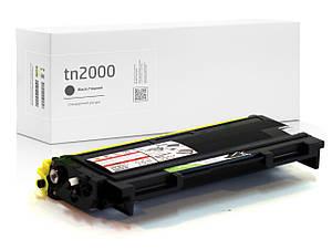 Картридж совместимый Brother TN2000 (TN-2000) , ресурс (2.500 копий), аналог от Gravitone