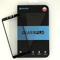 Защитное стекло Mocolo для Xiaomi Redmi 6A полноэкранное черное