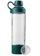 Спортивная бутылка-шейкер BlenderBottle Mantra Glass Green, Скло, 600мл, Original - 145721