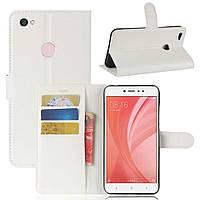 Чехол-книжка Litchie Wallet для Xiaomi Redmi 5A Белый