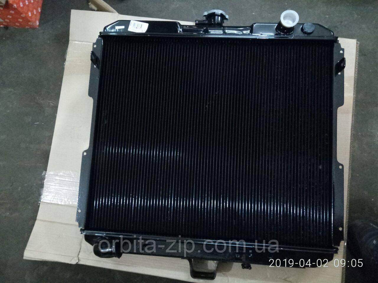 33104-1301010-30 Радиатор водяного охлаждения ГАЗ 33104 ВАЛДАЙ (2-х рядный) (пр-во г.Оренбург)