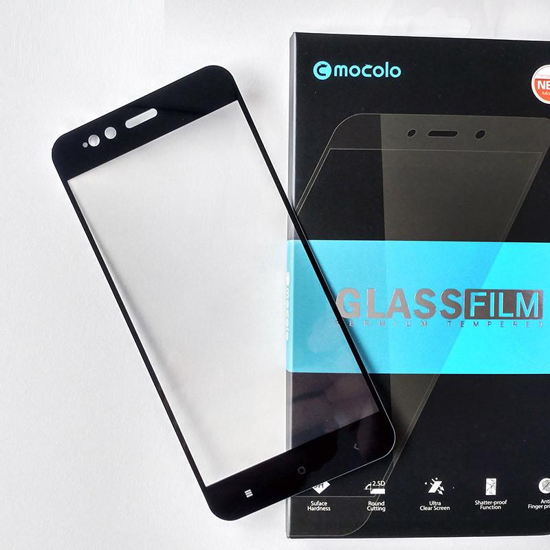 Защитное стекло Mocolo для Xiaomi Mi A1 / Mi5X полноэкранное черное